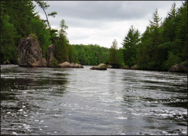 Fly fishing for Smallmouth Bass in Upper Michigan