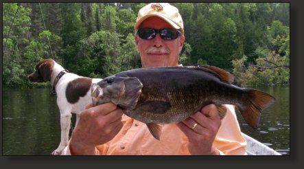 Smallmouth Bass Fishing in the U.P.