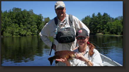 FIshing Guide for Smallmouth Bass Fishing in the Upper Peninsula of Michigan